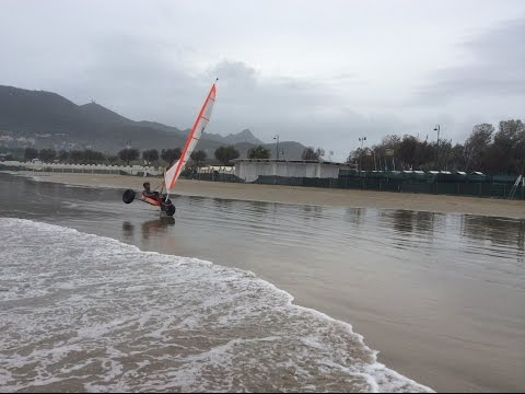 Sciroccati. Wind Kats Landsailing in Circeo National Park (Italy)