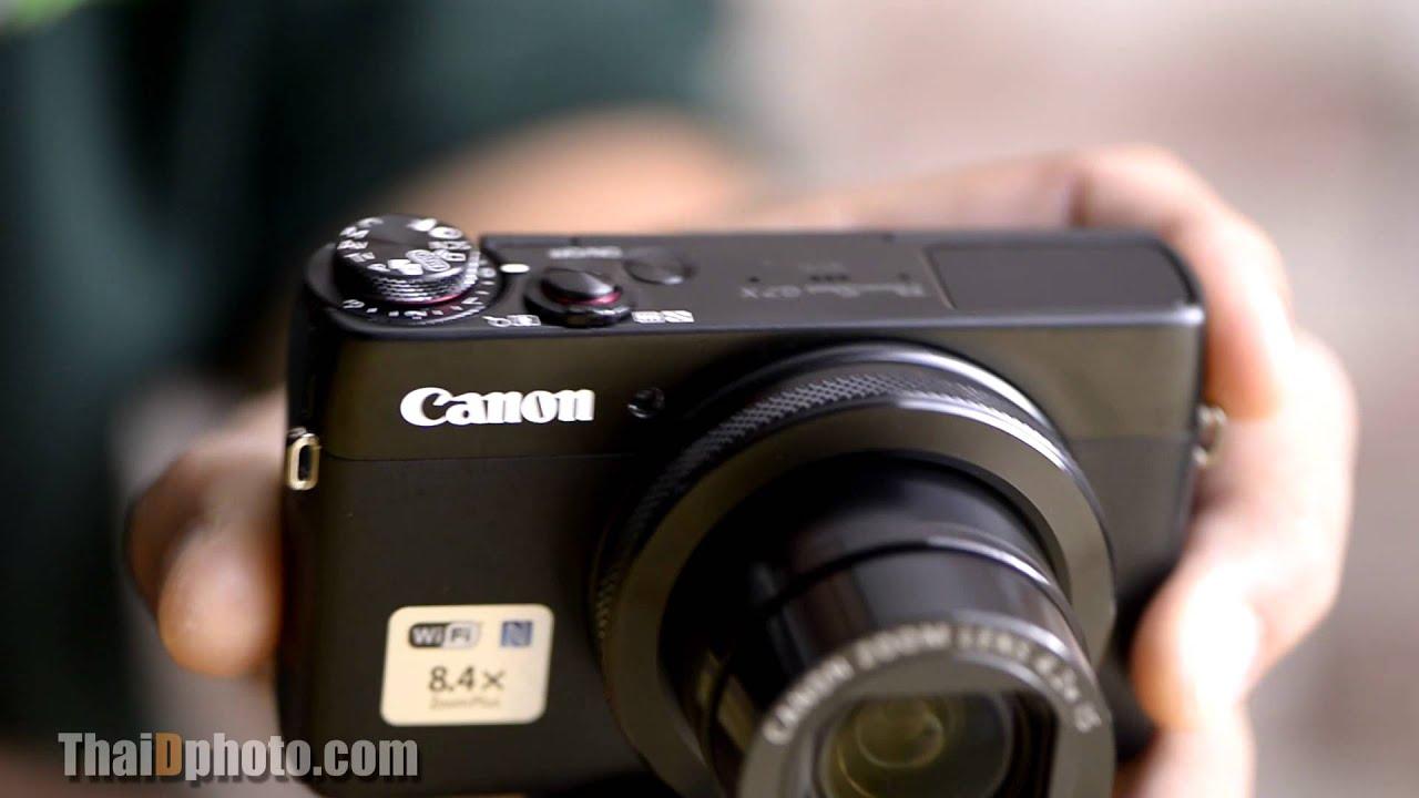 รีวิว Canon G7X Premium Compact