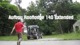 Rooflodge 140 Extended Dachzelt Aufbau (HD)