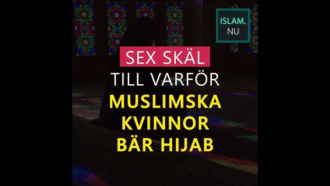 Sex skäl till varför den muslimska kvinnan bär hijab