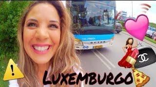 COMIGO NO LUXEMBURGO: Adoro o Motorista Bus, Tour Loja Sem Clientes, Baile , MAC e mais!