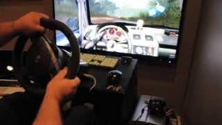 Dirt 2 on MAC w/Fanatec GT2 wheel