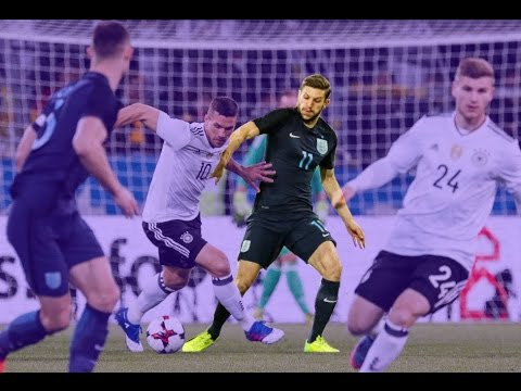 Adam Lallana vs Germany • 22.03.2017