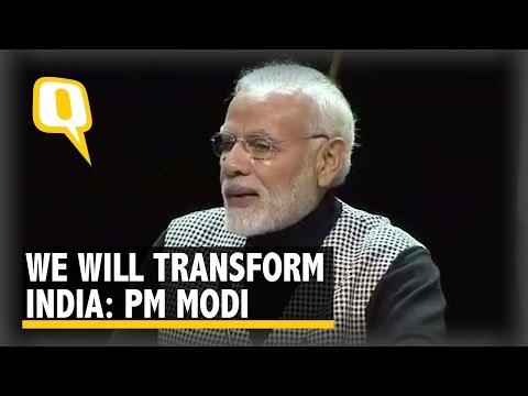 'We Will Transform India': PM Modi Addresses Indian Diaspora in Stockholm, Sweden | The Quint