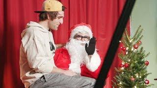 Santa Steve likes naughty boys.