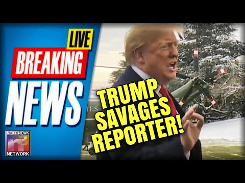 BREAKING: Trump Goes SAVAGE on Reporter for MOST ABSURD Question in American HISTORY!!!