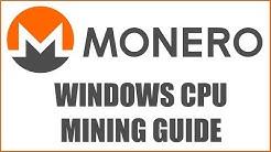 How To Mine Monero (XMR) RandomX With Your CPU (Intel & AMD)