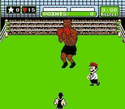 Punch-out Mike Tyson 00:26 TKO R1