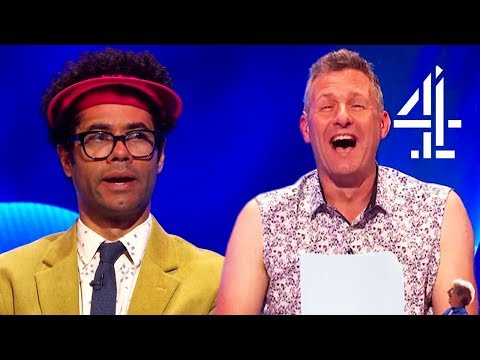 Richard Ayoade Has Thoughts on Flat Earthers & Climate Change...  The Last Leg