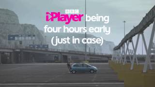 BBC iPlayer being four hours early for the ferry