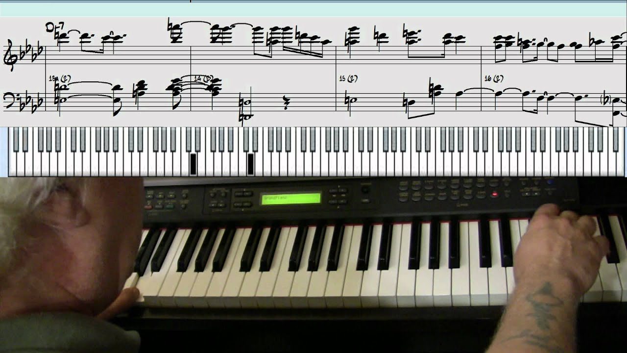 Cantaloupe Island Piano Jazz Cover Yvan Jacques