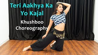 Teri Aakhya Ka Yo Kajal Song Dance Choreography | Haryanvi Songs Dance | Hindi Songs Dancing Girls