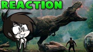 REACTION - Jurassic World: Fallen Kingdom Trailer