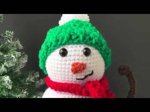Snowman Amigurumi Crochet Tutorial - Part 1