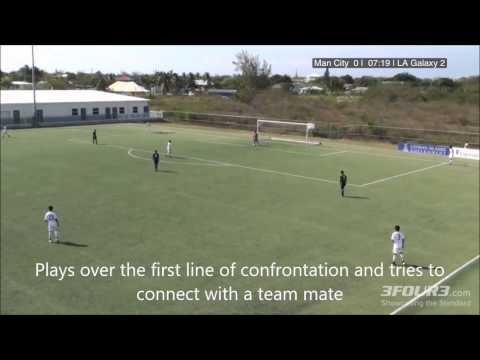 The Establishment of 'A Vision' - Tactical Analysis of a U14 International Club Game