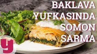 Baklava Yufkasında Somon Sarma (Somon Norveç'ten Gelir!)   Yemek.com