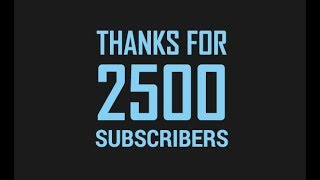 Thank you for 2500 YouTube Subscribers – Trust & Friendship in Stock Market by Paisa To Banega