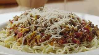 Pasta Recipes - How To Make Spaghetti Sauce