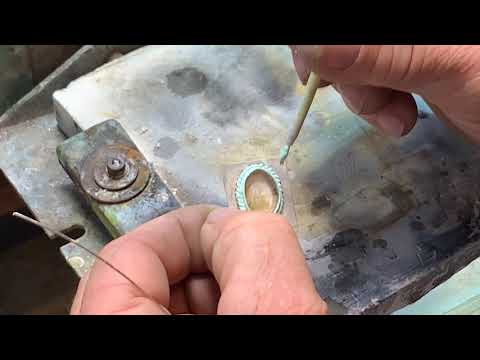 How To Make A Bezel Setting - Adding A Cable Or Rope Design