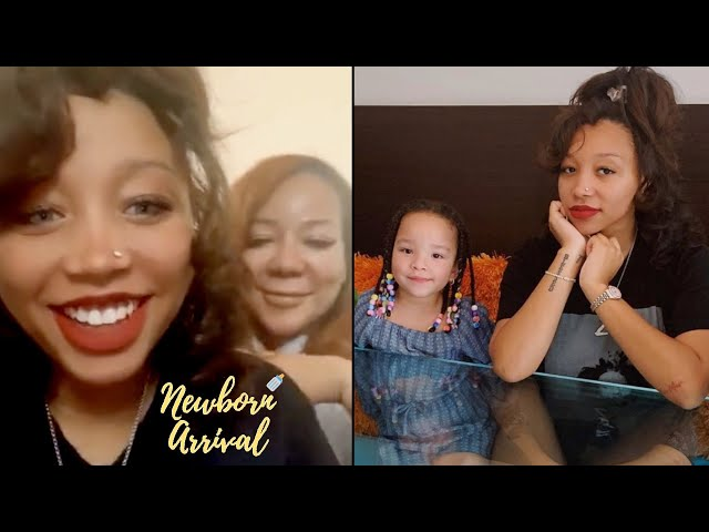 Tiny Harris Discuss Motherhood With Preggo Daughter Zonnique! 👶🏽