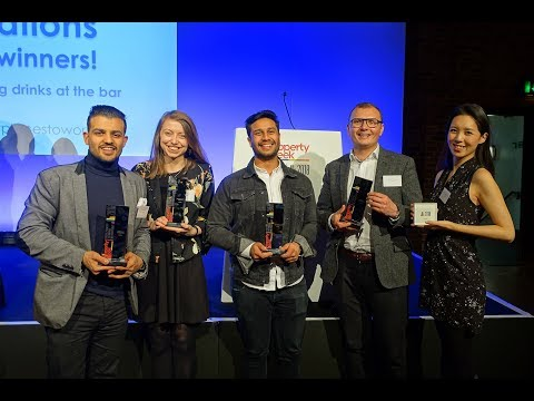 Hubble at Property Week: Best Places to Work in Property 2018 Awards Ceremony