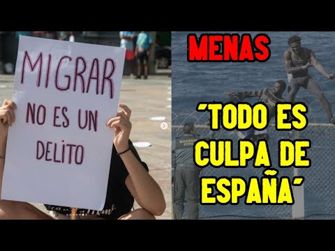 ? 200 ILEGALES EXIGEN una ACOGIDA digna y ACUSAN a ESPAÑA de ESTADO POLICIAL ?