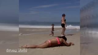 Инструктор йоги и танцев на пилоне Sarah Mundo Фитнесс мотивация