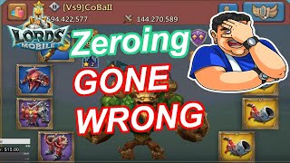 Zeroing GONE WRONG in new Kingdom??  - 王國紀元 Lords Mobile