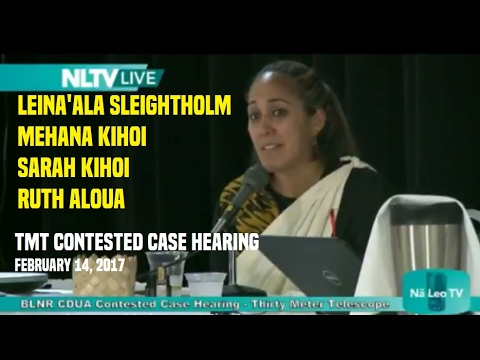 #TMTCCH 2/14/17 Leina'ala, Mehana and Sarah Kihoi, Ruth Aloua full video
