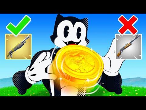 The COIN FLIP CHALLENGE! (Fortnite)