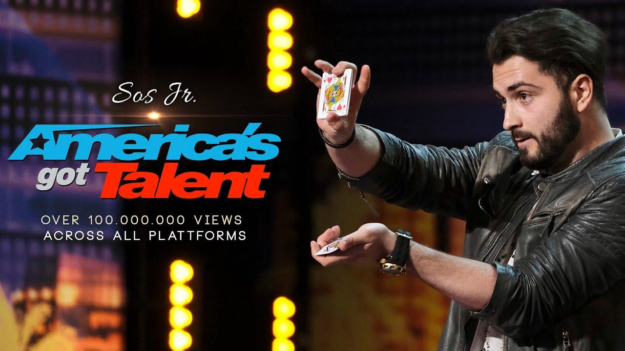 100.000.000 views! MIND-BLOWING MAGIC SKILL! The first Manipulator on America's Got Talent!