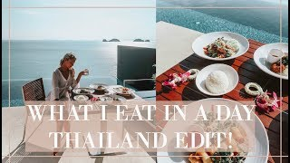 WHAT I EAT IN A DAY IN THAILAND // & An Exciting Announcement!!!!  // Fashion Mumblr