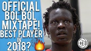 7'2 Bol Bol is a CHEAT CODE!! Official EYBL Mixtape! Best Player in the Country?!?