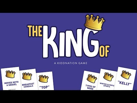 Play the Kidd Nation Game 'The King Of'