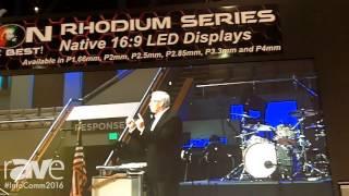 InfoComm 2016: Aeson LED Display Technologies Exhibits P2.85mm Video Screen