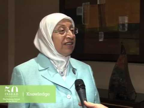 Damascus Chamber of Commerce's Nimat Siyada on women and leadership in the Arab world