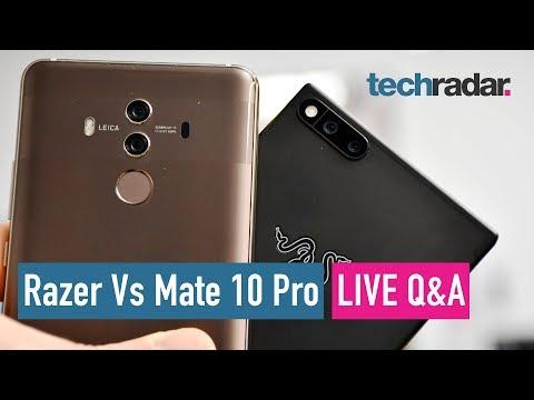 Download Youtube: Razer Phone vs Huawei Mate 10 Pro - LIVE Q&A