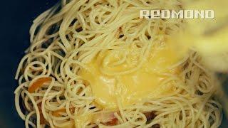 pasta alla carbonara in multi fornello redmond rmc m20e