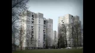 Corbeil-Essones (91) : visite de la cité 'Les Tarterets'