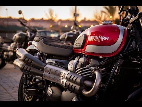 2017 Triumph Street Scrambler Youtube