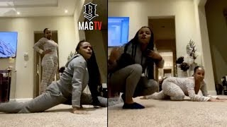 Yaya Mayweather & Mom Melissia Show Off Their Talents! 😳