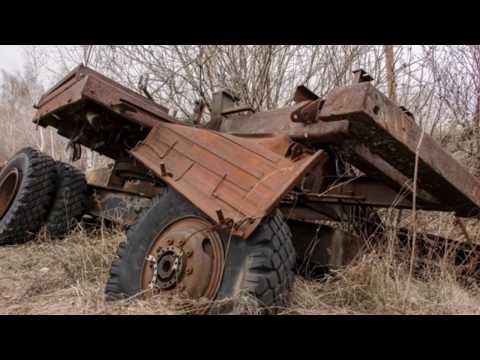 Брошенная  сельскохозяйственная техника. #2