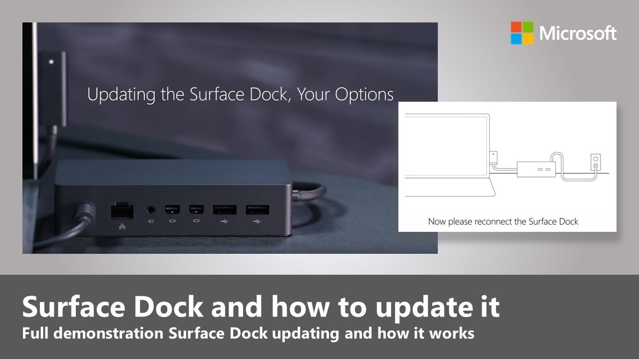 Updating the Surface Dock, Your Options