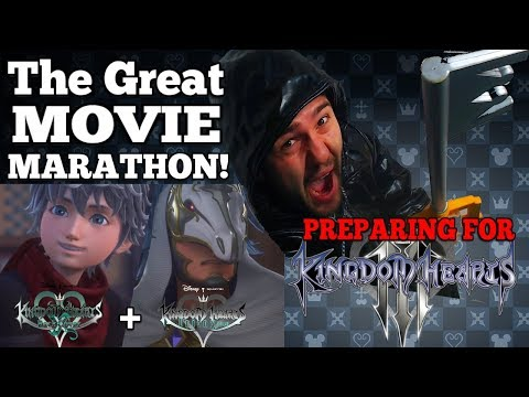 Peparing for Kingdom Hearts 3 - THE GREAT MOVIE/LORE MARATHON | KH Union X + Back Cover #1