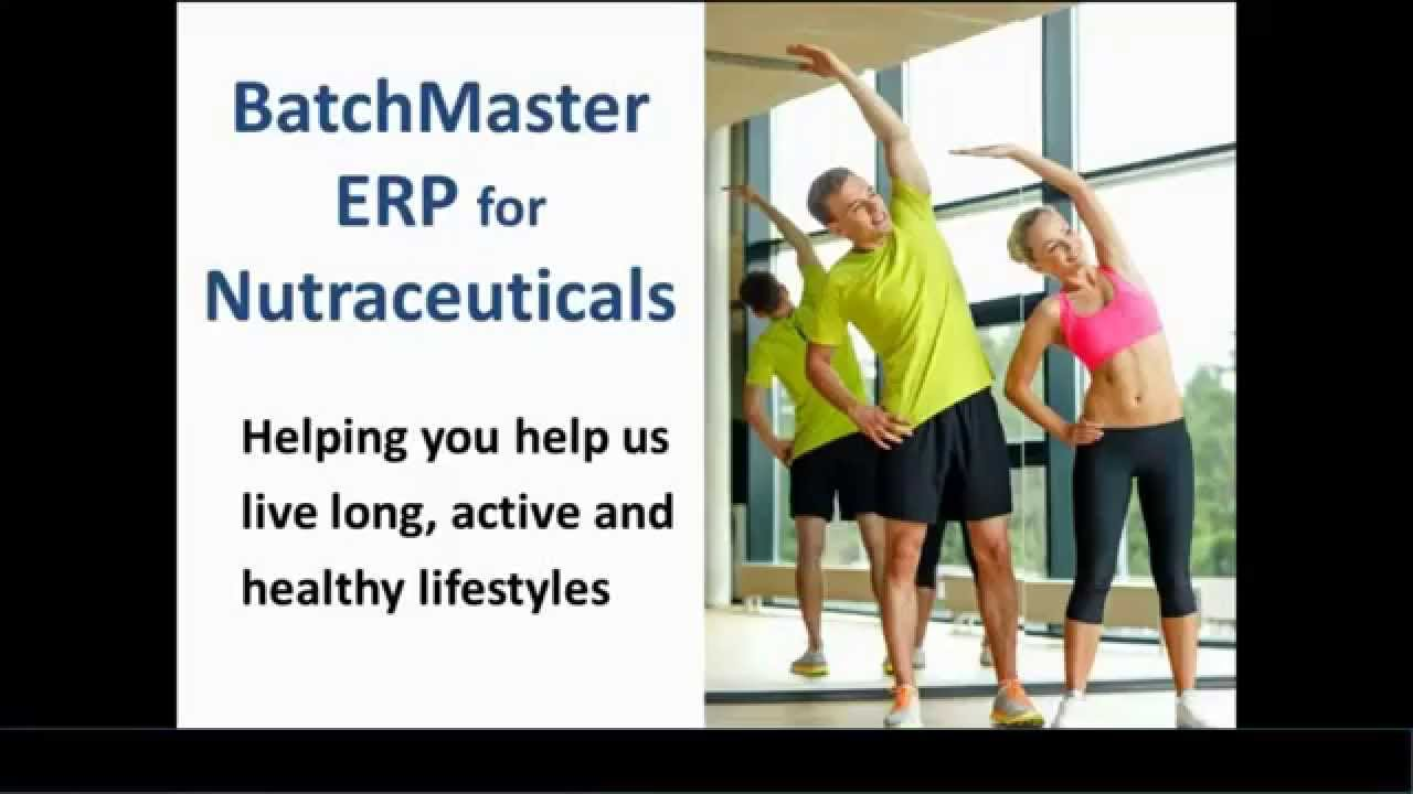 Nutraceutical Manufacturing ERP Software | BatchMaster Software