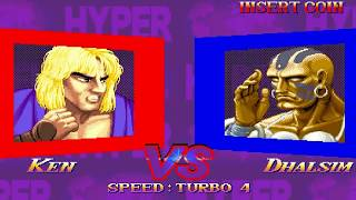 【TAS】Hyper Street Fighter II ~ Turbo Ken