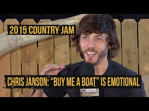 """""""Buy Me a Boat"""" Singer Chris Janson Thankful for Closed Doors"""