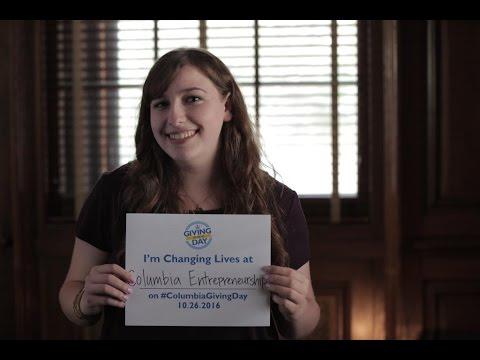 Sara Sakowitz '18CC: Changing lives through Columbia Entrepreneurship