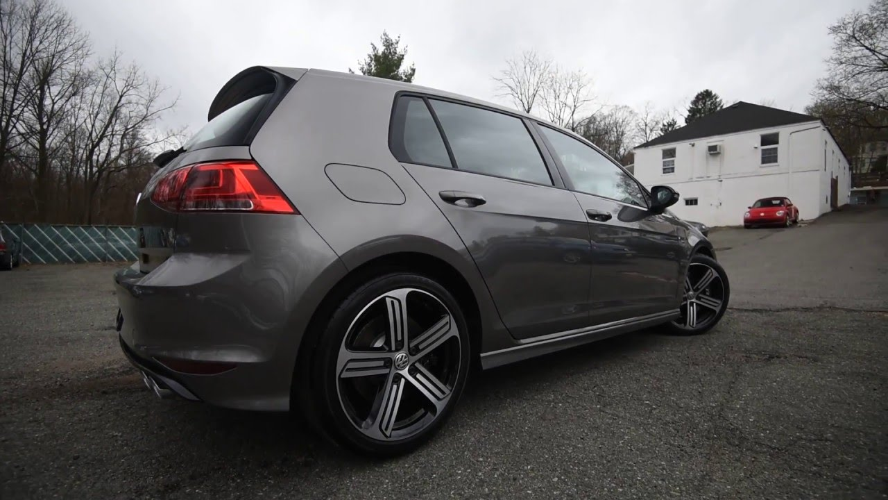 Brand New 2016 Volkswagen Golf R 4motion Manual Walk