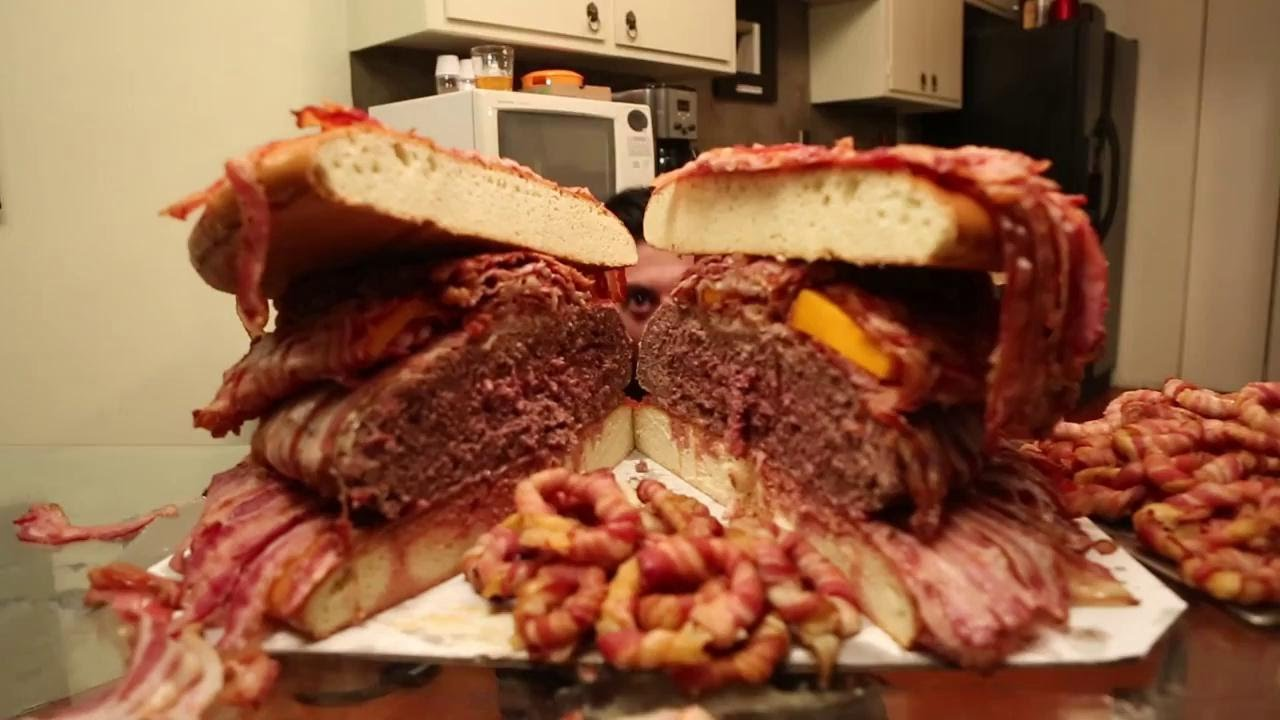 All Bacon Burger - World's Best Burgers - YouTube